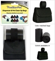 Solid Black Purse Dispenser five, star, pet, purse, dispenser