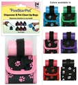 Paw Print Purse Dispenser five, star, pet, purse, dispenser, paw, print