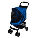 Happy Trails NO-ZIP Pet Stroller, Sapphire pet, gear, happy, trails, stroller, no-zip