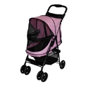 Happy Trails NO-ZIP Pet Stroller, Pink Diamond pet, gear, happy, trails, stroller, no-zip