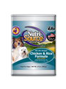 Canned Chicken & Rice 13 oz. 12/cs nutrisource, food, canned