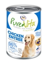 Canned Grain Free Chicken Entree 13 oz. 12/cs purevita, grain free, dog