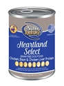 Canned Grain Free Heartland Select 13 oz. 12/cs nutrisource, grain, free, food, heartland