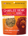Grain Free Crunch Chicken, Pumpkin & Apple, 8 oz. charlee, bear, grain, free, pumpkin, apple, chicken, dog, treat