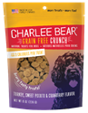 Grain Free Crunch with Turkey, Sweet Potato & Cranberry, 8 oz. charlee, bear, grain, free, dog, treat, turkey, sweet, potato, cranberry