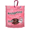 Houndations Soft Chew Training Treats 4 oz., Beef loving, pets, houndations