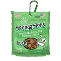 Houndations Soft Chew Training Treats 4 oz., Duck loving, pets, houndations