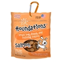 Houndations Soft Chew Training Treats 4 oz., Salmon loving, pets, houndations