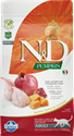 N&D Pumpkin Grain-Free Cat Quail & Pomegranate 3.3# farmina, feline, n&d, pumpkin, food, quail, pomegranate,