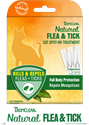 Natural Flea & Tick Spot On Treatment for Cats tropiclean, spot, flea, tick, natural, treatment, cat