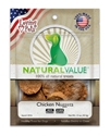 Natural Value Chicken Nuggets 1.5 oz. loving, pets, natural, value, chicken, nuggets