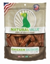 Natural Value Chicken Sausages 14 oz. loving, pets, natural, value, chicken, sausage