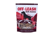 Off Leash Soft Bakes Beef with Cranberries, 5 oz. presidio, off, leash, soft, baked, training, treats, dog, beef, cranberries