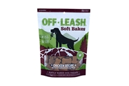 Off Leash Soft Bakes Chicken with Cinnamon Apple, 5 oz. presidio, off, leash, soft, baked, training, treats, dog, chicken, cinnamon, apple