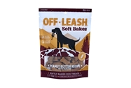 Off Leash Soft Bakes Peanut Butter with Bacon, 5oz. presidio, soft, baked, training, treats, dog, peanut, butter, bacon