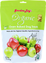Organic Baked Treats 14 oz., Apple grandma, lucys, organic, baked, apple