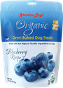Organic Baked Treats 14 oz., Blueberry grandma, lucys, organic, baked, blueberry