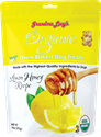 Organic Baked Treats 14 oz., Lemon Honey grandma, lucys, organic, lemon, honey