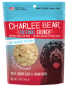 Orignal Crunch with Turkey Liver & Cranberreis, 16 oz. charlee, bear, turkey, liver, cranberries, treat, dog