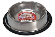 Ruff N Tuff Stainless Steel No-Tip Bowls  loving, pet, ruff, tuff, stainless, steel, bowl