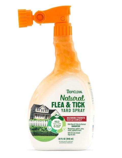 Tropiclean - Natural Flea & Tick Yard Spray, 32 oz. #TPC320031
