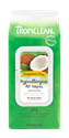 Hypoallergenic Wipes, 100 ct. tropiclean, wipes, hypo, allergenic, hypoallergenic